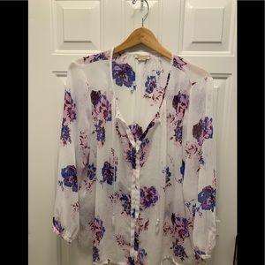 Lucky Brand flowy blouse